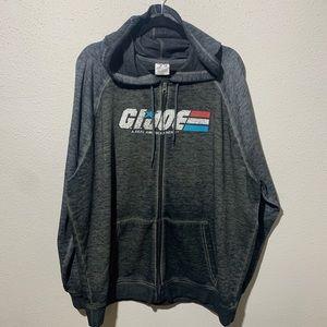 G.I.JOE Mens 2XL Full Zip Up